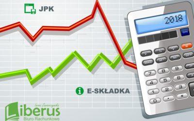 JPK i E-składka – duże zmiany w rachunkowości.